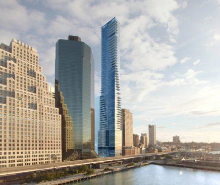 Nếu theo tiêu chí cuối cùng thì có thể nói những tòa nhà chọc trời ở các thành phố như New York là không khiêm tốn. Chúng quá to lớn đồ sộ về kích thước, làm người ta muốn quan sát trọn vẹn toàn bộ tòa nhà cũng khó và chen chúc vươn mình càng cao càng tốt. (Ảnh minh họa qua Twitter)