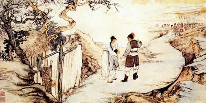 Gương người xưa: Vợ khóc lóc đòi ly hôn vì chồng kiếm tiền bất chính.2