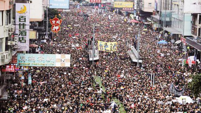 Hồng Kông: 2 triệu người xuống đường biểu tình đòi xóa bỏ dự luật dẫn độ - H1