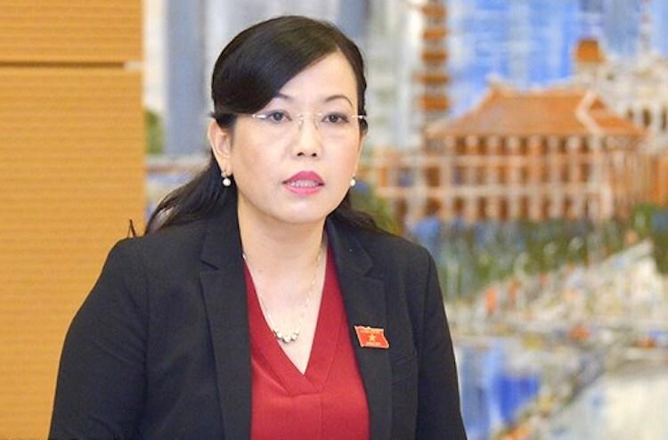 Bà Nguyễn Thanh Hải, Trưởng Ban dân nguyện.