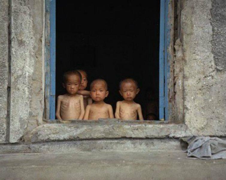 Trẻ em ở Triều Tiên. (Ảnh:  Michael Huniewicz)