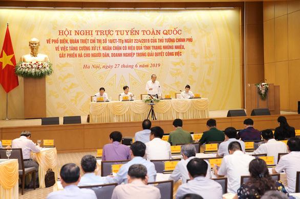 Phó thủ tướng Trương Hòa Bình: Tham nhũng vặt xảy ra ở nhiều cấp, nhiều ngành, nhiều lĩnh vực