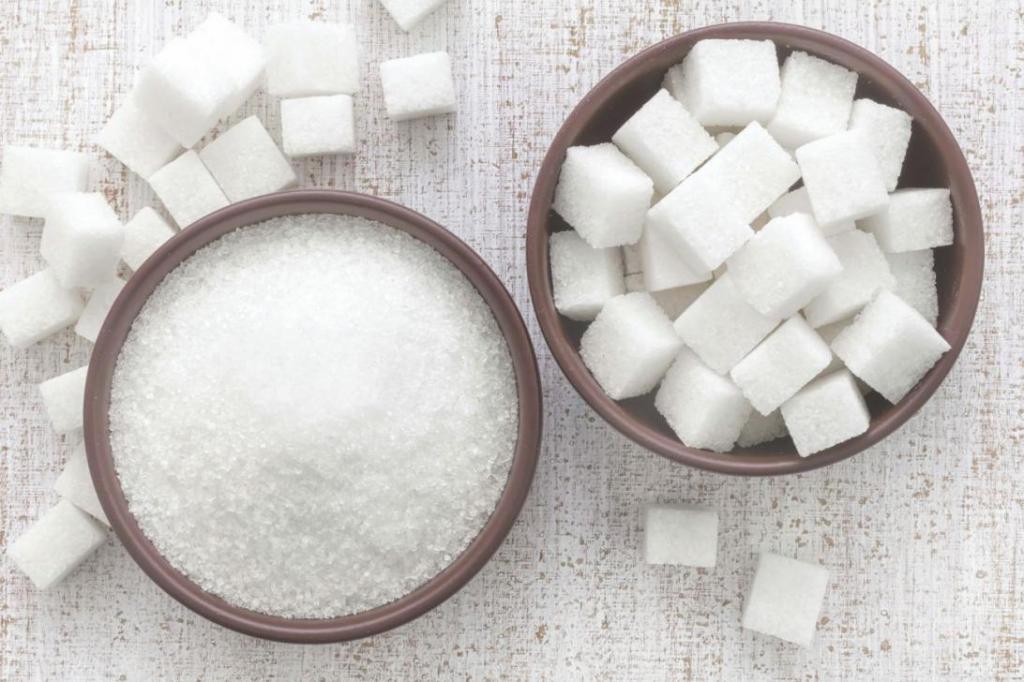 Ăn nhiều đường có thể thúc đẩy nhanh quá trình lão hoá da của bạn. (Ảnh qua fb.ru)