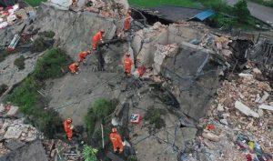 Động đất kép ở Tứ Xuyên, Trung Quốc: Ít nhất 134 người thương vong