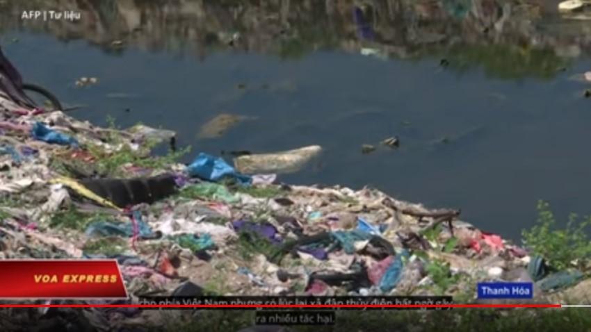 Báo động tình trạng thượng nguồn Trung Quốc gây ô nhiễm sông suối Việt Nam. 3