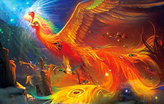 Đức Phật đã kể cho các đệ tử câu chuyện về chim Phượng hoàng chúa