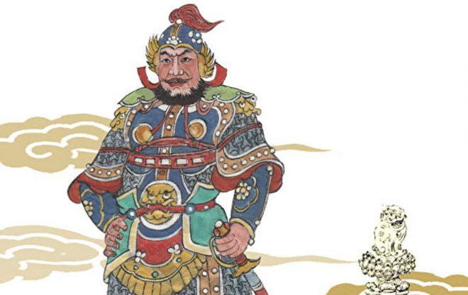 Tướng quân áo giáp vàng đầu thai làm con của vị tú tài thời Minh. 2