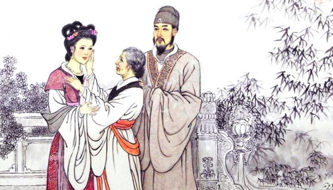 Gương người xưa: Vợ khóc lóc đòi ly hôn vì chồng kiếm tiền bất chính.1