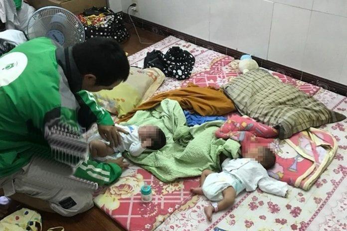 Người phụ nữ tốt bụng hàng ngày đi nhặt trẻ sơ sinh bị mẹ bỏ rơi về nuôi dưỡng.10