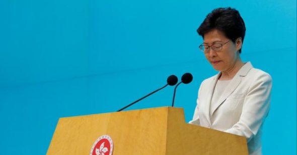 Hồng Kông: Bà Carrie Lam xin lỗi nhưng không từ chức