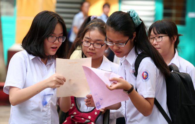 Kết quả thi THPT lớp 10: 50% thí sinh có điểm dưới trung bình môn Toán.2
