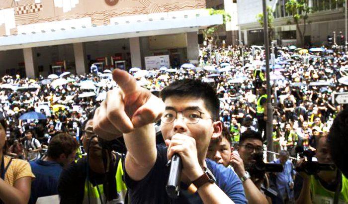 """Trò """"chơi chữ"""" của cảnh sát Hồng Kông liệu có đánh lừa được dư luận?1"""