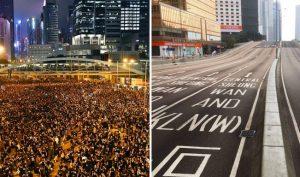 Hong Kong: Người dân ở lại đến sáng dọn sạch rác sau cuộc biểu tình 2 triệu người