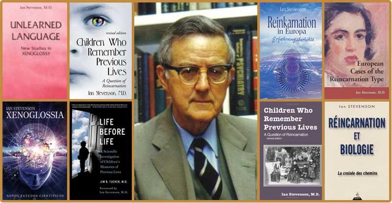 Học giả về luân hồi chuyển thế nổi tiếng Ian Stevenson và những cuốn sách về luân hồi chuyển kiếp.