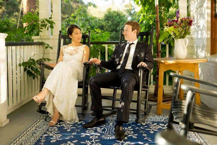 Mark Zuckerberg - ông chủ Facebook - và vợ Priscilla