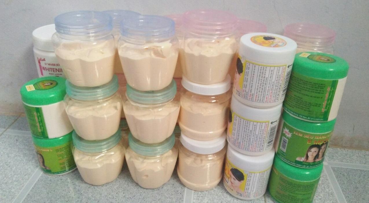 Mỹ phẩm dỏm đang được bày bán nhan nhản trên thị trường.