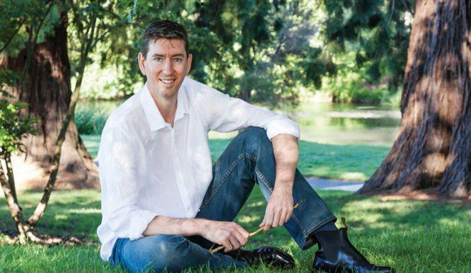 Mark Hutchison - chủ doanh nghiệp Lifewood - chuyên về ván lát sàn cao cấp của Úc.