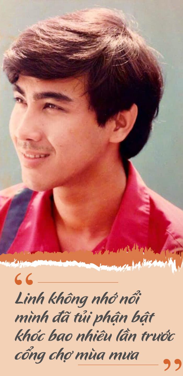 Tuổi trẻ khốn khổ, MC Quyền Linh không nhớ nổi mình đã từng khóc bao nhiêu lần.