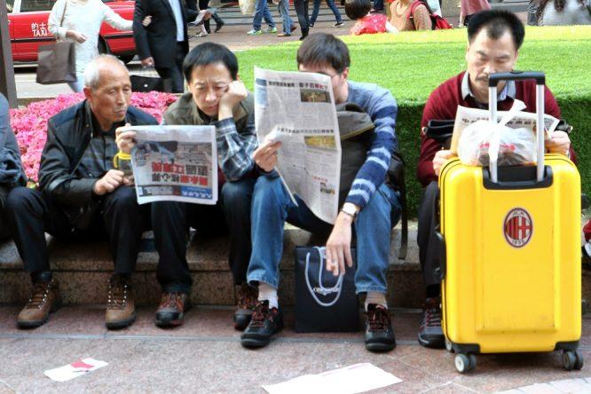 Phiên bản tiếng Trung Đại Kỷ Nguyên giúp độc giả người Hoa ở hải ngoại nắm bắt được tình hình thực sự ở Trung Quốc đại lục. (Ảnh: The Epoch Times)