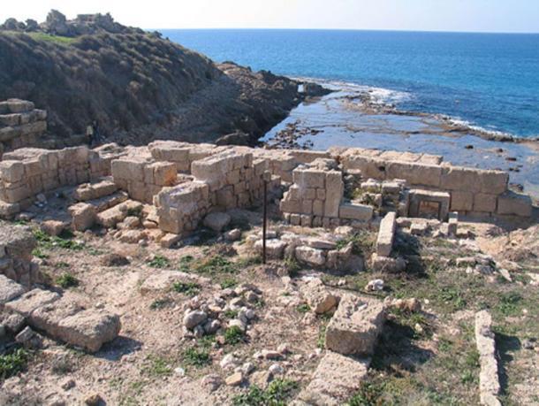 Một địa điểm khảo cổ khác trên đất liền ở Del Thor, Israel. (Ảnh qua Ancient Origins)