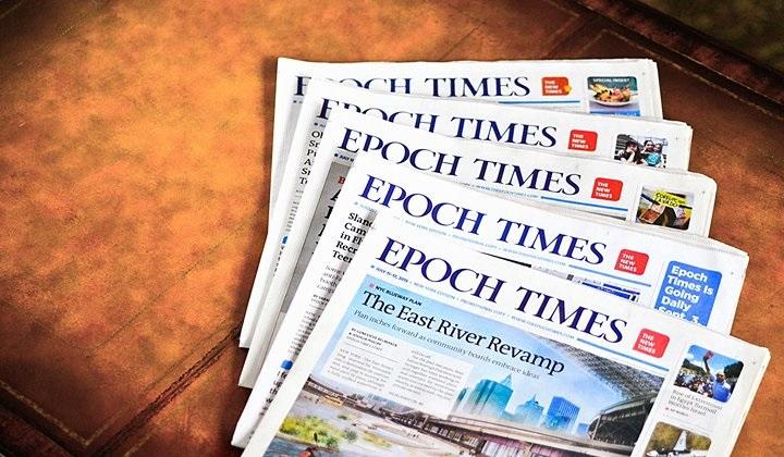 Thời báo Đại Kỷ Nguyên được xem là một tờ báo uy tín và đáng tin cậy. (Ảnh qua Evensi)