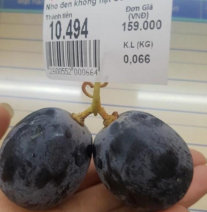 Trào lưu mua quả nho.