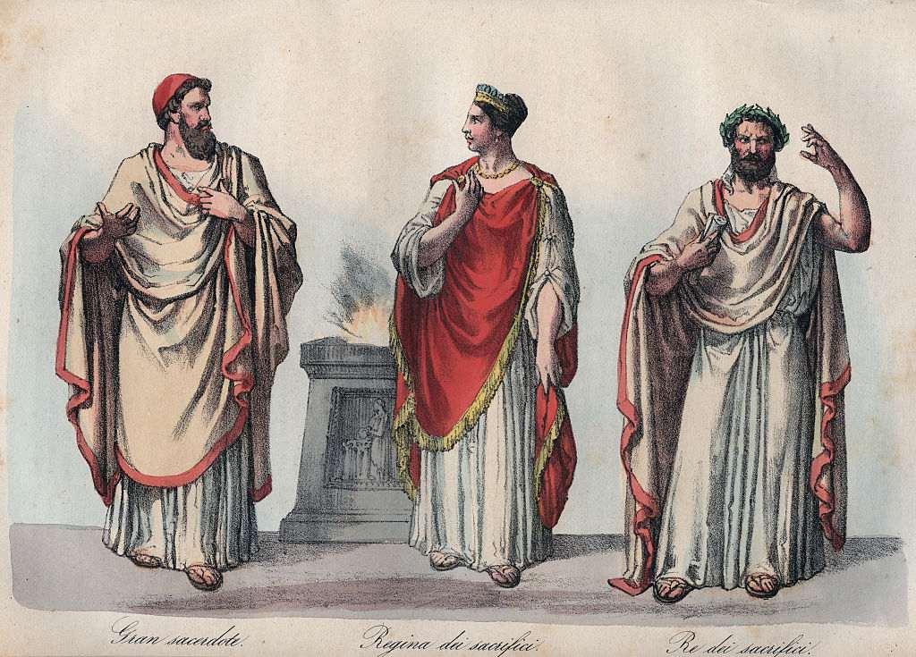 Người La Mã cổ đại ưa chuộng kiểu dùng trâm cài để gắn các mảnh vải lại với nhau.