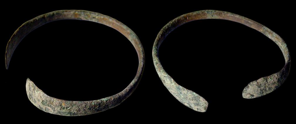 Vòng tay là phụ kiện thời trang thời thượng ở La Mã thời trung kỳ. (Ảnh: Ancientresouce)