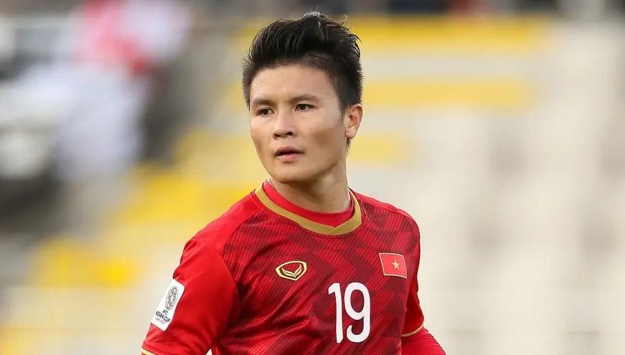 Tiền vệ đạt giải Cầu thủ xuất sắc nhất AFF Cup 2018 Nguyễn Quang Hải. (Ảnh qua 90Min)