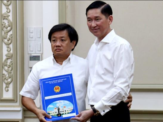 Ông Đoàn Ngọc Hải từ chức P.TGĐ Công ty Xây dựng Sài Gòn.3