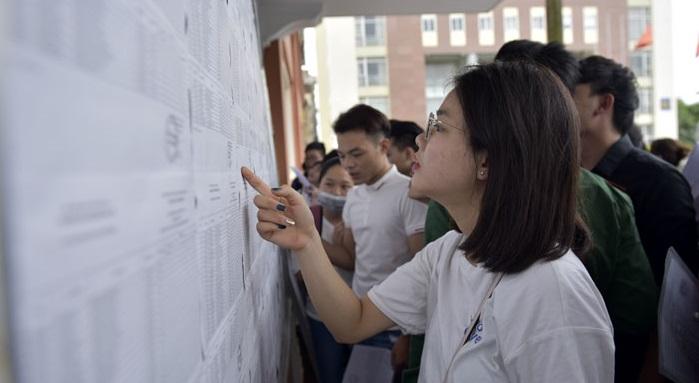 Kết quả thi THPT lớp 10: 50% thí sinh có điểm dưới trung bình môn Toán.1