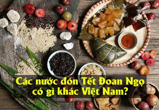 Các nước đón Tết Đoan Ngọ có gì khác Việt Nam?.1