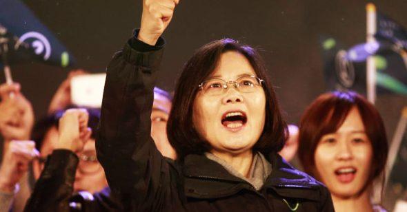 Thái Anh Văn: Bảo vệ tự do dân chủ là trách nhiệm của bất cứ người lãnh đạo nào