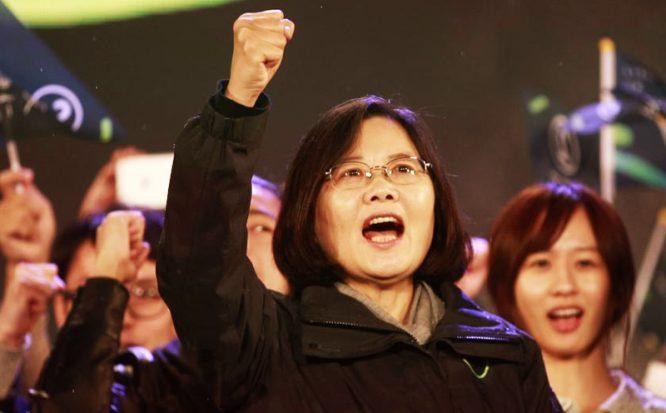 Thái Anh Văn: Bảo vệ tự do dân chủ là trách nhiệm của bất cứ người lãnh đạo nào.1