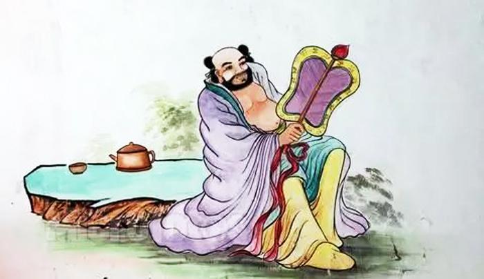 Hán Chung Ly, vì để tìm chọn đồ đệ đã giả làm người bán chè trôi nước.