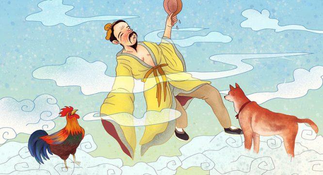 """Câu chuyện thành ngữ: """"Một người đắc đạo, gà chó cũng thăng thiên"""".1"""