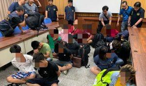 Đài Loan: Cảnh sát bắt 14 người Việt trên thuyền cá không giấy tờ