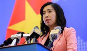 Việt Nam yêu cầu Trung Quốc rút nhóm tàu vi phạm ra khỏi vùng đặc quyền kinh tế