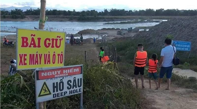 Cụ ông 93 tuổi tử vong tại bãi tắm tự phát trên dòng sông Lam