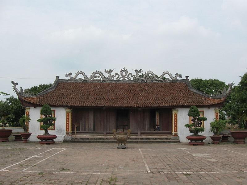 Đền thờ Mạc Đĩnh Chi. (Ảnh từ wikipedia.org)
