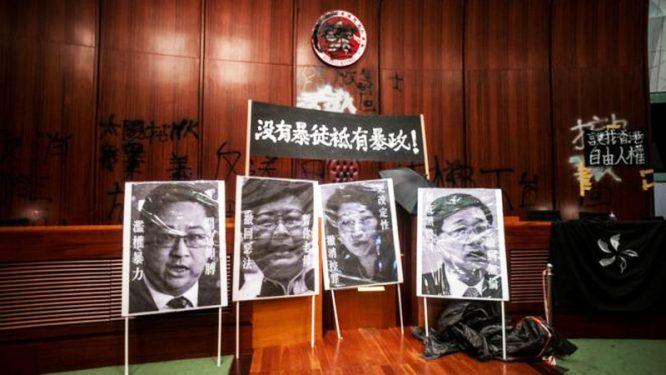 Tài liệu rò rỉ: Biểu tình ở Hồng Kông khiến Bắc Kinh thấp thỏm không yên.3