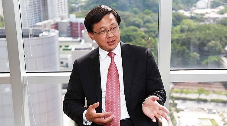 Ông Hà Quân Nghiêu, một chính trị gia Hong Kong thuộc phe thân Bắc Kinh. (Ảnh qua Hong Kong Free Press)