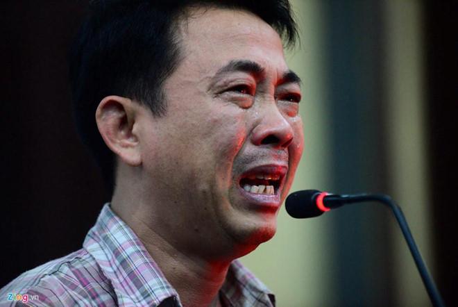 Bị cáo Nguyễn Minh Hùng tại phiên tòa tháng 10/2017.