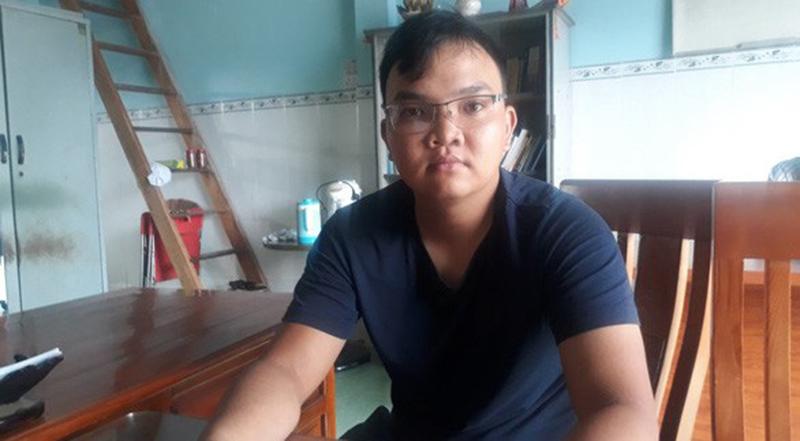 Anh Nguyễn Văn Cảnh (1996, quê tại Bình Phước) thấy lạ khi bỗng nhiên mang án tích 'tổ chức đánh bạc'