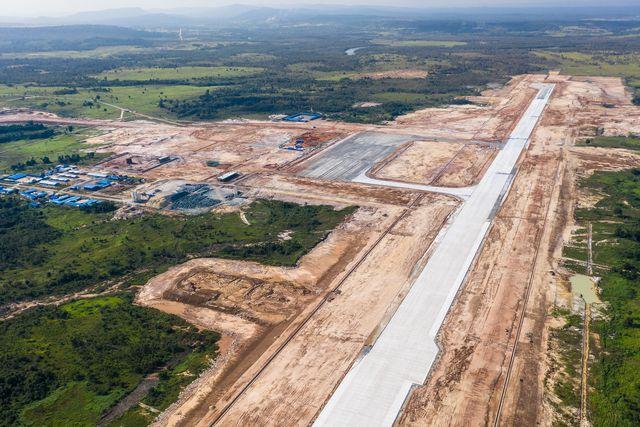 Sân bay quốc tế Dara Sakor dự kiến là sân bay lớn nhất của Campuchia