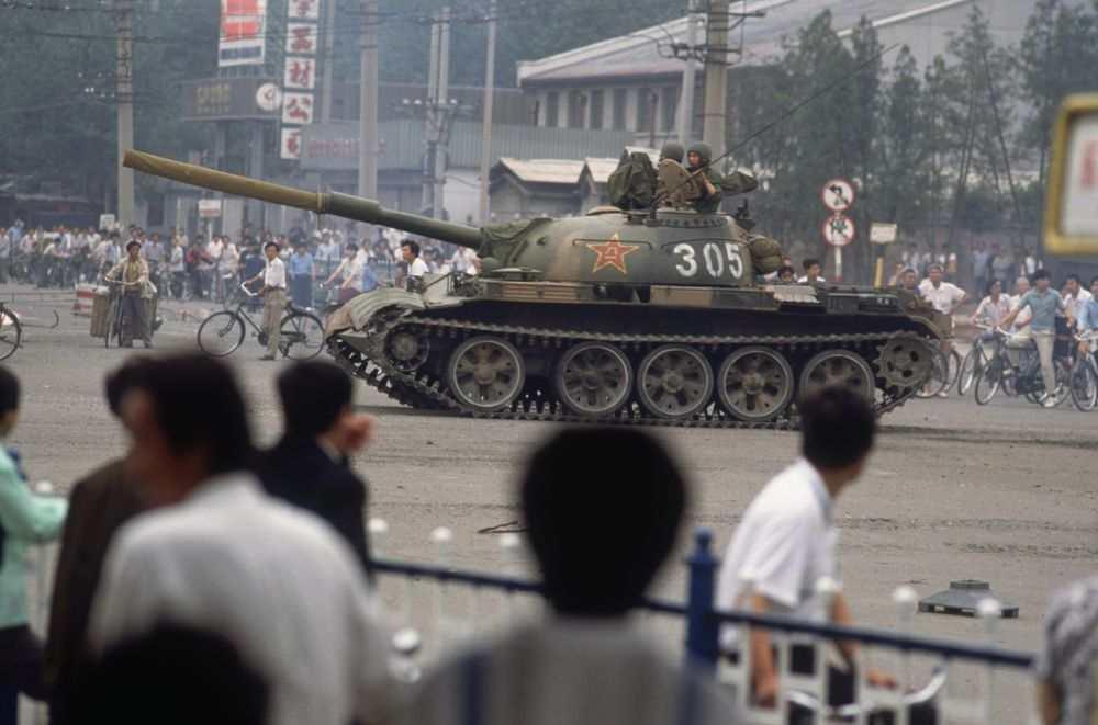 Kỷ niệm ngày Lục Tứ, Thiên An Môn canh phòng nghiêm mật, ký giả không được phép bước vào - H1