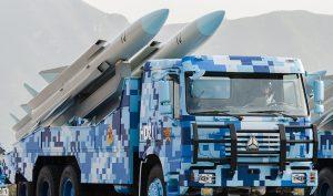 Trung Quốc phóng 6 tên lửa đạn đạo chống hạm từ đảo nhân tạo ở Trường Sa