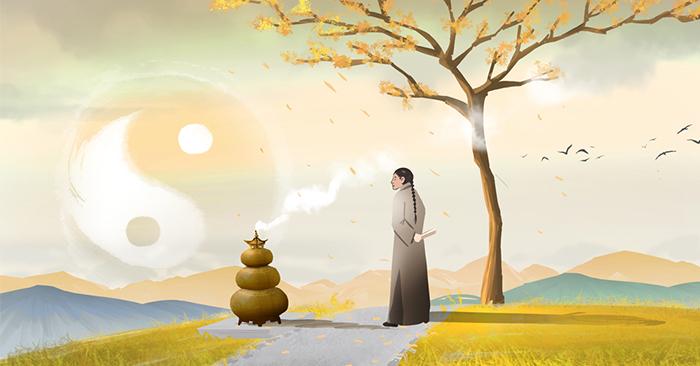 Khi hành động hay ăn nói thì luôn phải tích đức, lúc đó không cần phải bói quẻ hay xem phong thuỷ, phúc báo tự đến.