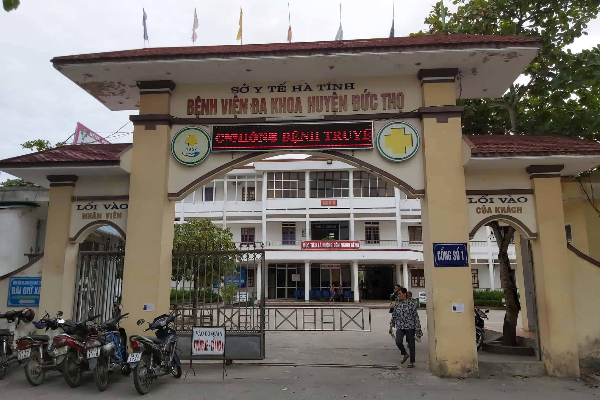 BVĐK huyện Đức Thọ