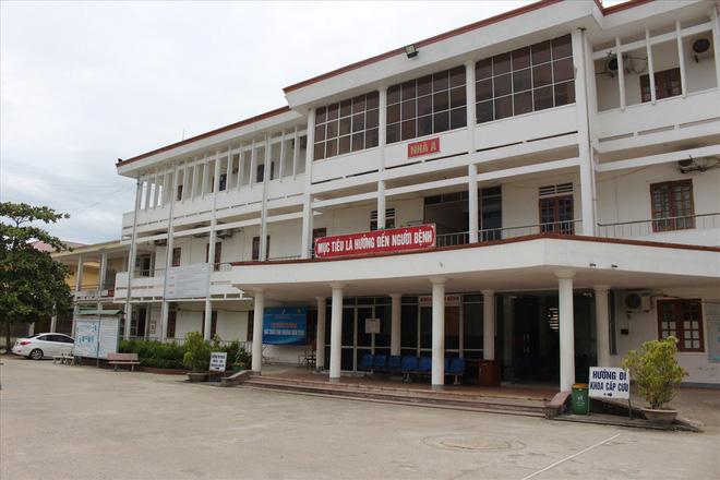 Bệnh viện Đa khoa huyện Đức Thọ (Hà Tĩnh).